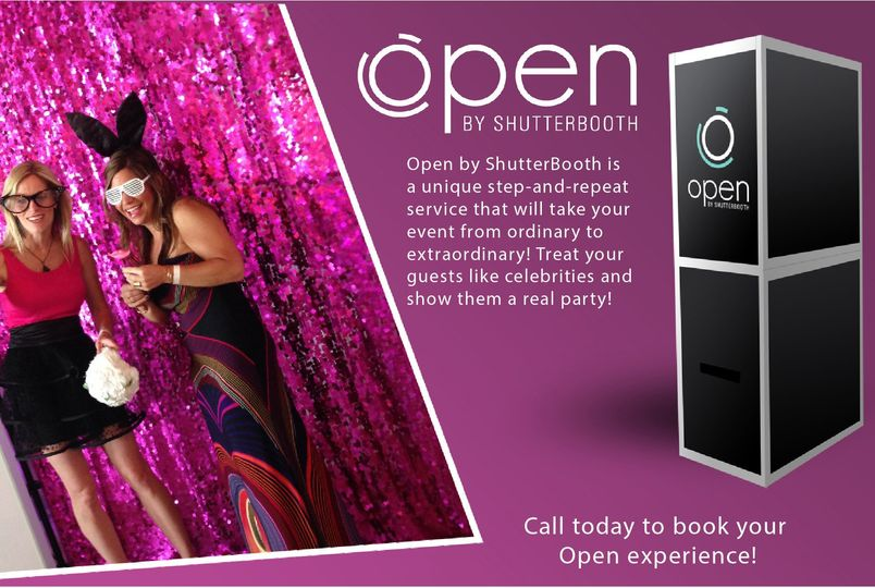 open by shutterbooth no branding