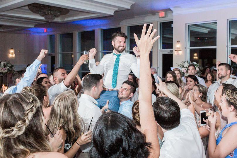 Sometimes ya gotta crowd surf!