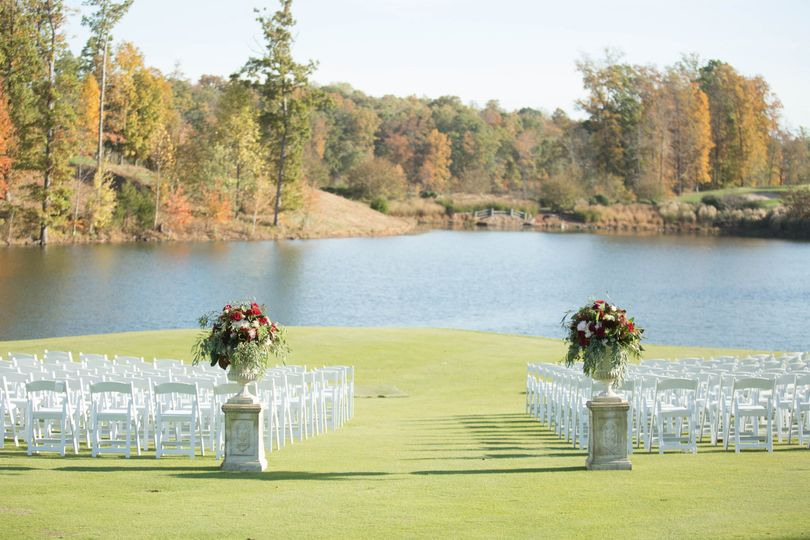 Ceremony by the water