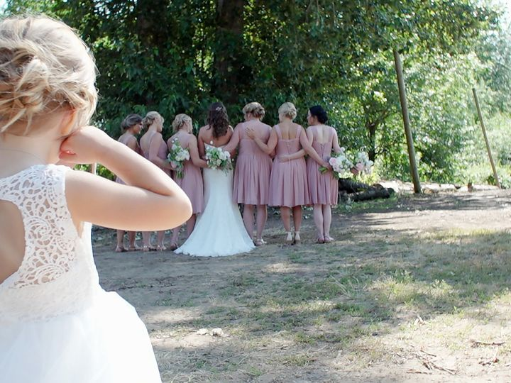 Tmx 1511469630089 Flowergirl.watching.ladies Portland, Oregon wedding videography