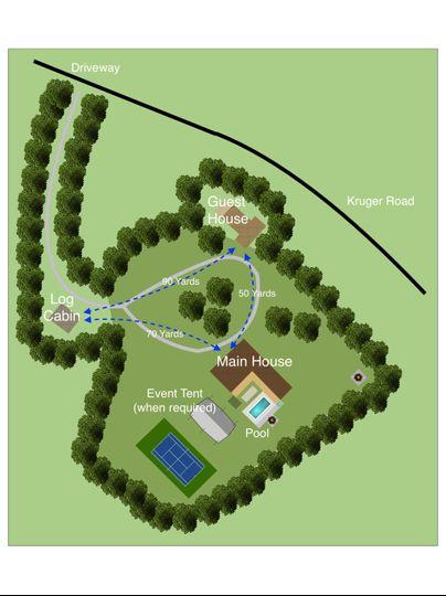 Apple Blossom Resort Site Map