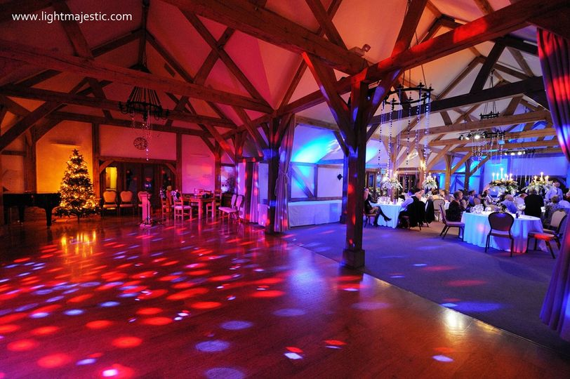 event lighting hire in cheshire
