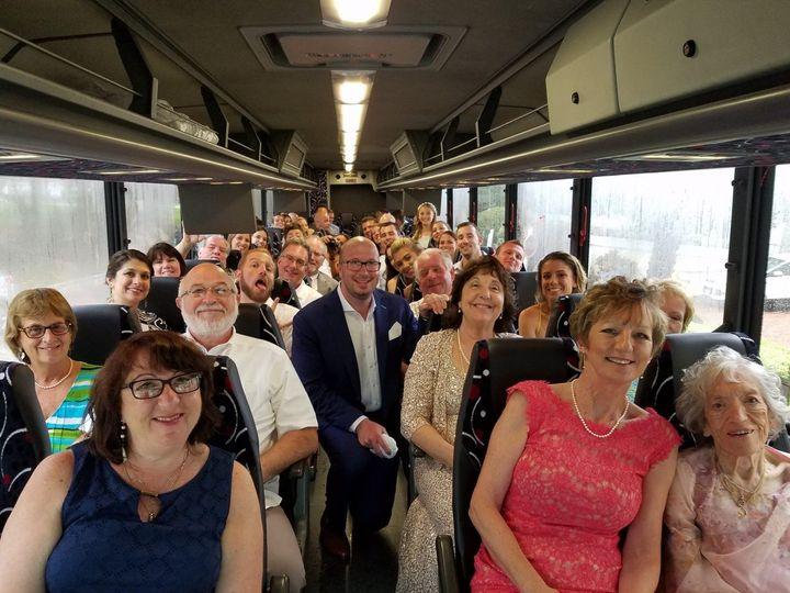 Tmx Wedding Group Bus 1325x1060 51 983263 159138617710702 Raleigh, North Carolina wedding transportation