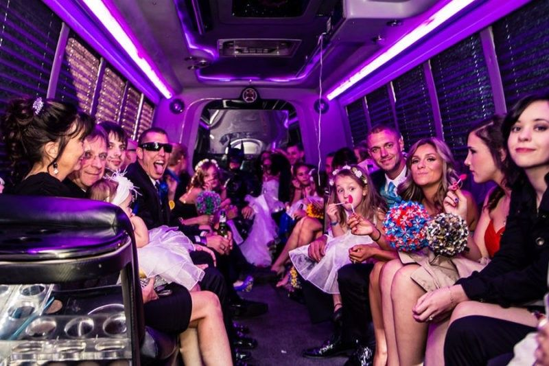 Style ride in Limo