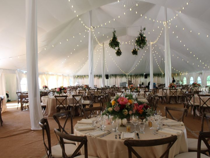 Tmx 1499372914915 Full Tent With Lighting Ali Barone Patterson, New York wedding rental