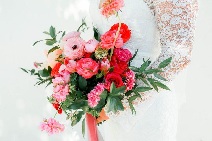 Bright bouquet - Dearest Jane Photography