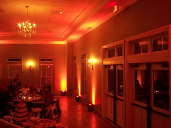Uplighting at The Waterford House
