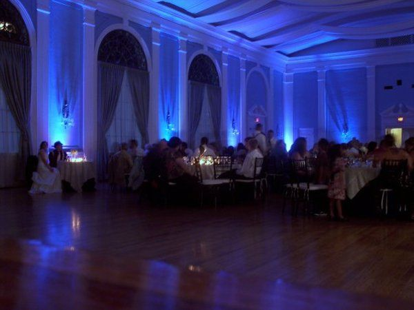 Uplighting at the Texas Woman's Federation Mansion