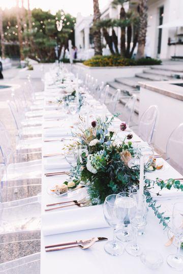 An elegant reception