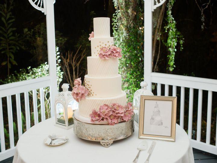 Tmx 1539215224 C11f0c02bdeed5c1 1539215221 7176a3fae8730c1e 1539215219748 14 Pleats And Polka  Napa, California wedding cake