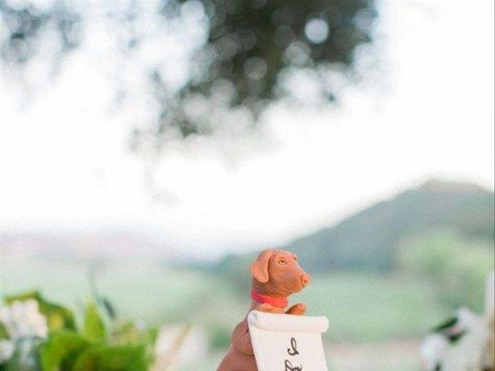 Tmx 1539215682 E4b7f60764c02443 1539215681 848bb074303a834e 1539215681102 18 Dog Silhouette  Napa, California wedding cake