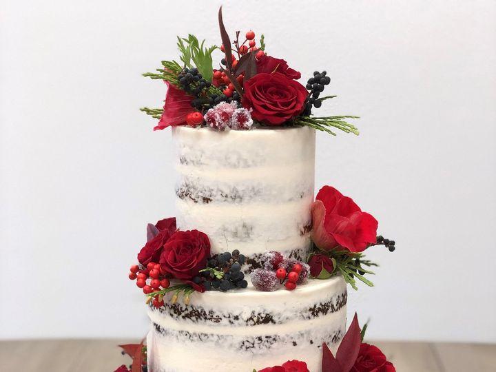 Tmx Winter Berry 51 1017263 Napa, California wedding cake