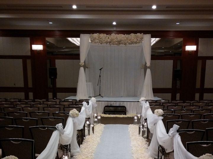 Tmx 1423259840243 Canopy 1 With Flowers Hawthorne wedding eventproduction