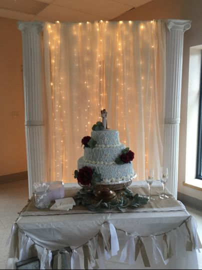 Cake and Decoration