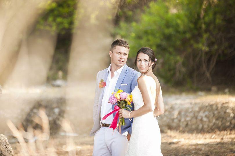 .Wedding portrait session in Kefalonia island
