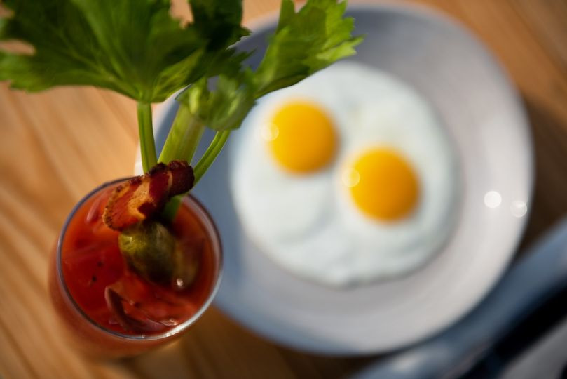Bloody Mary & Eggs