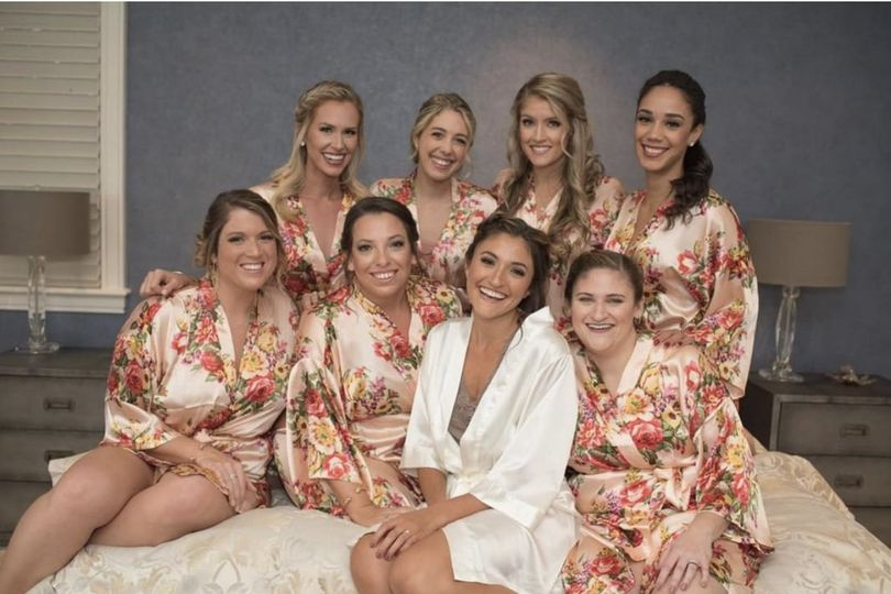 Beautiful | Bridal squad Dragonfly Photography