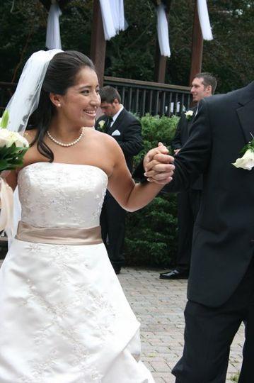 September 2009 wedding
