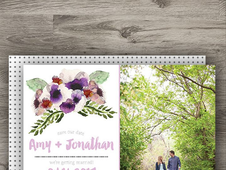 Tmx 1427233793431 Anemone Std 3 Denver wedding invitation