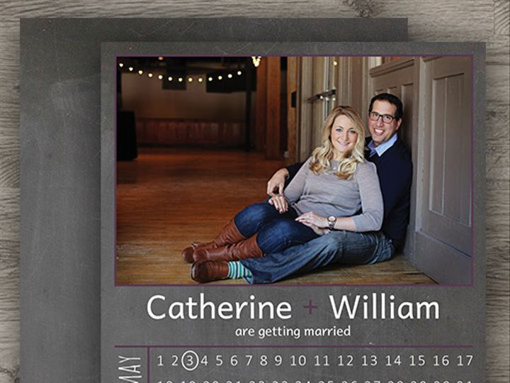 Tmx 1427233806903 Chalkboard Save The Date 3 Denver wedding invitation