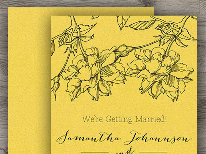 Tmx 1427233811960 Gold Save The Date 3 Denver wedding invitation