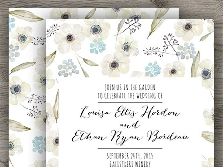 Tmx 1427233886341 Ranunculus Std 3 Denver wedding invitation