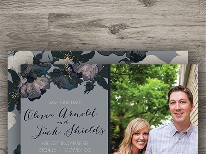 Tmx 1427233892364 Romantic Floral Std 3 Denver wedding invitation