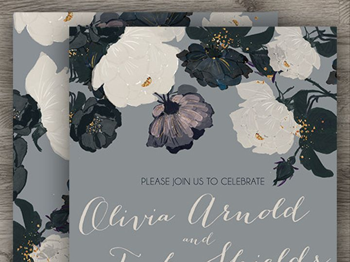 Tmx 1427233970458 Romantic Floral Wedding 3 Denver wedding invitation