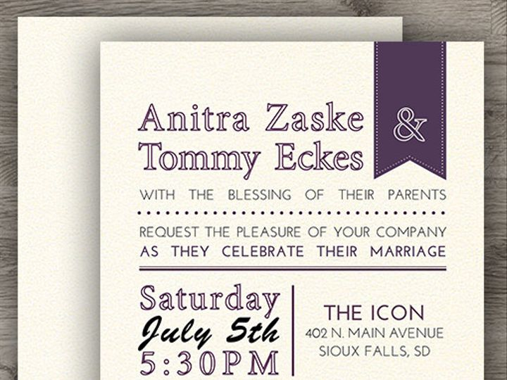 Tmx 1427234020982 Rustic Purple Set 3 Denver wedding invitation