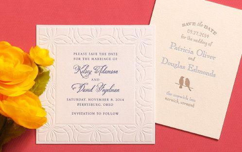 Tmx 1393251778942 Save The Date Card Pennington wedding invitation