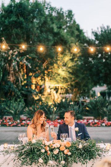Classic Palm Springs Wedding