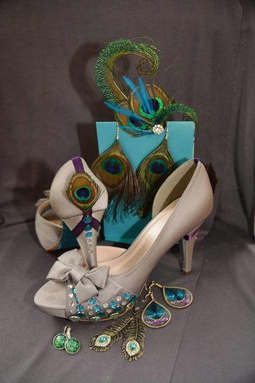 Bridal's shoes