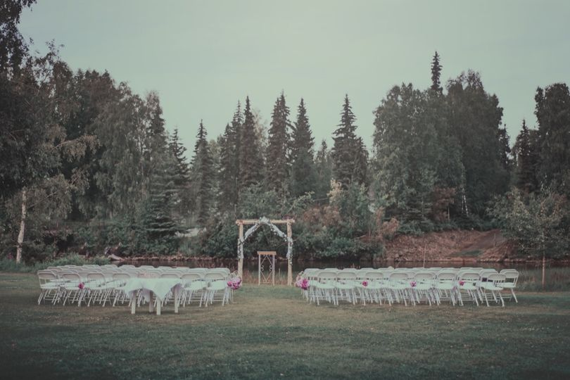 Ceremony space - Michelle Photography