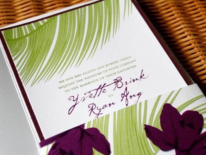 Tmx 1265912602193 Orchidinside Honolulu wedding invitation
