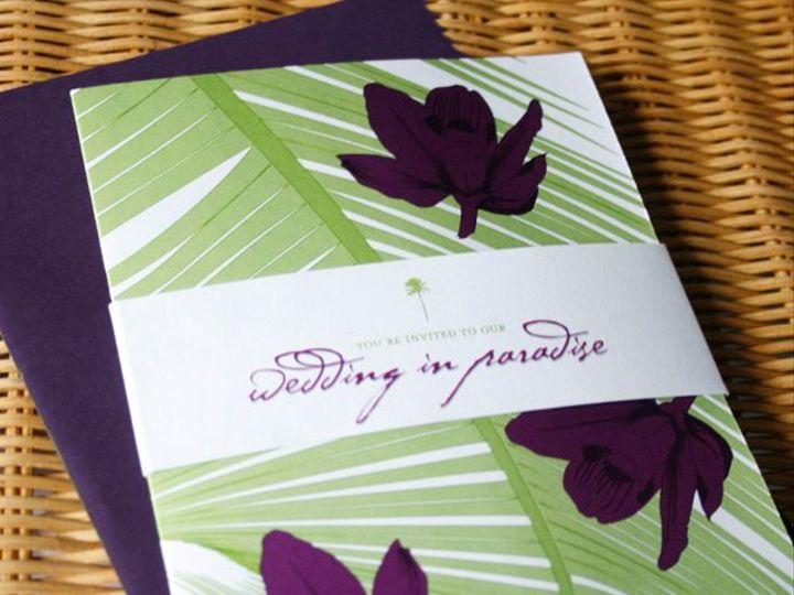 Tmx 1265912605146 Orchidcover Honolulu wedding invitation