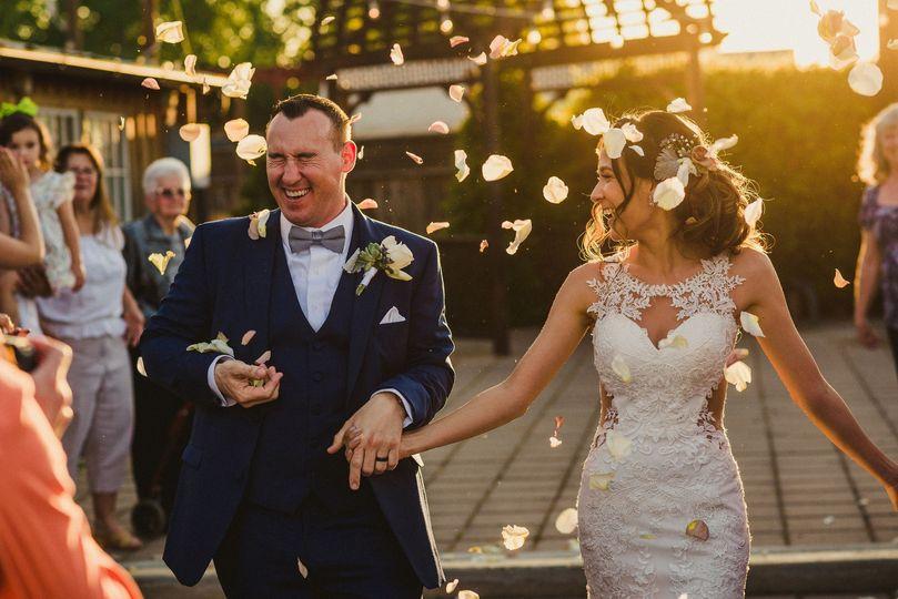 Spring 2019 Wedding Exit
