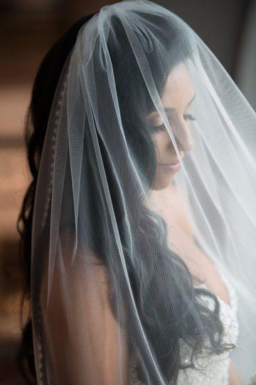 Bride's veil