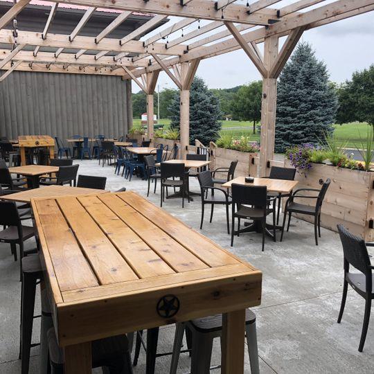 Fort 88 outdoor patio