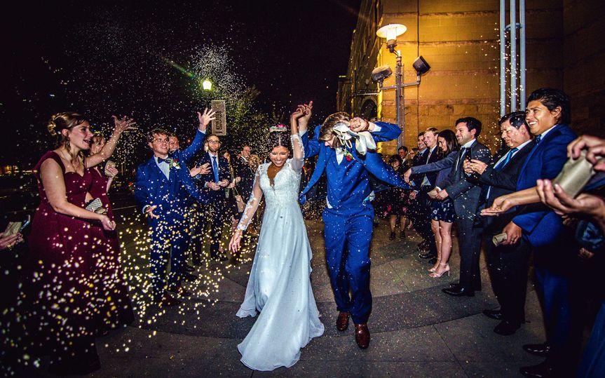 PNC Park Wedding Exit