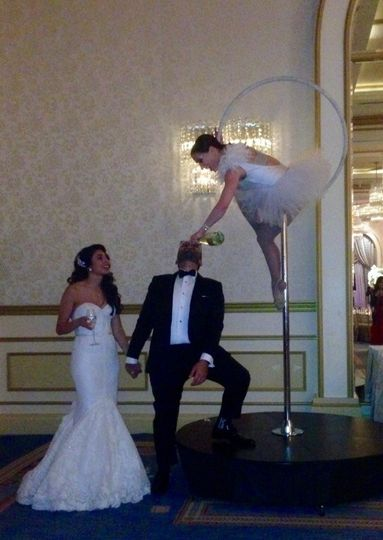 mishriky wedding aerial champagne 2