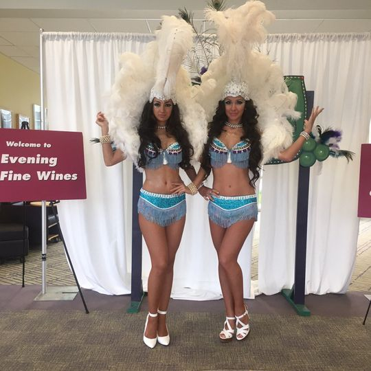 cirque central showgirls mcc evening of fine wines