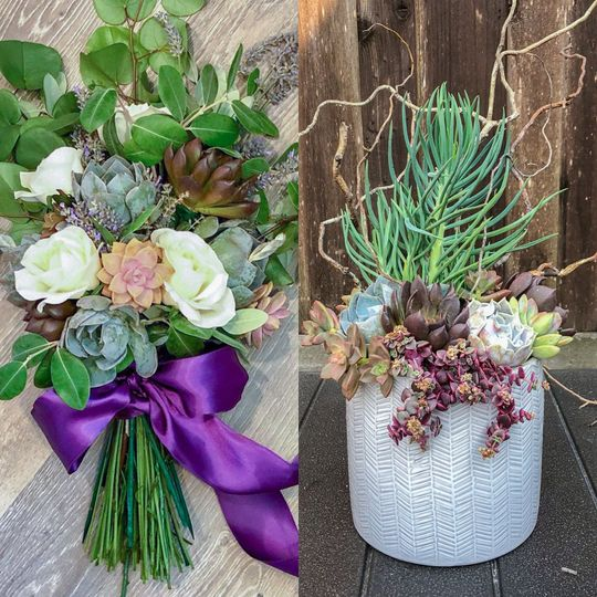 Transform your bouquet into a potted arrangement you can keep forever as a reminder of your special...