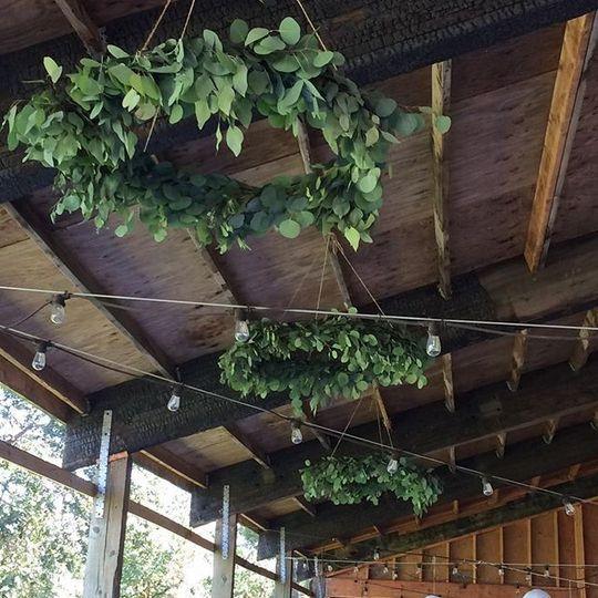Handmade Greenery Chandeliers