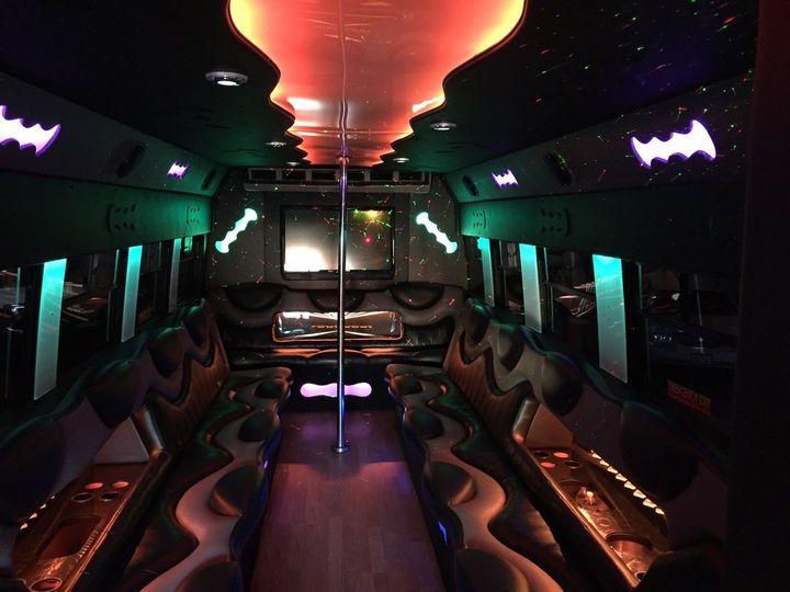 Tmx 1422636627605 Limo Bus Inside 1 Cleveland wedding transportation