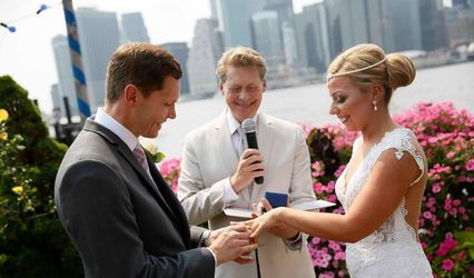 Stephen David Dym Wedding Officiant with WED in NYC