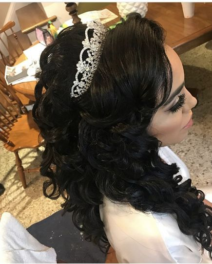 Bridal tiarra
