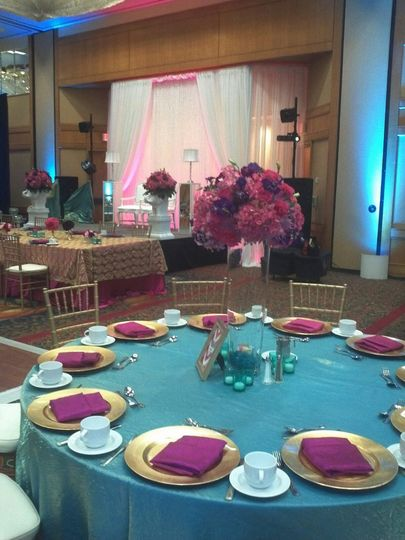 Pinkpurplevenuedecor