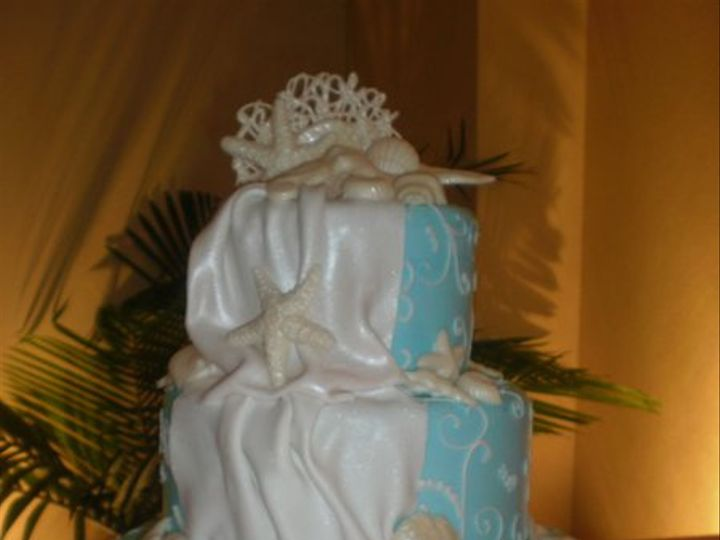 Tmx 1295898339377 CHANTILLYFB2063 Largo, Florida wedding cake