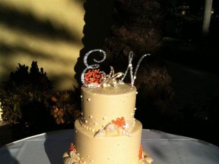Tmx 1295898384692 IMG957377 Largo, Florida wedding cake
