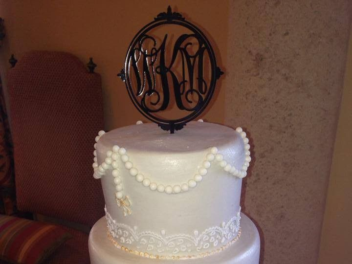Tmx 1467852473450 5513346815826185263661050127793n Largo, Florida wedding cake
